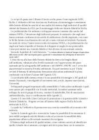 Tesi monitoraggio indicatori di qualità delle fattorie didattiche sicilia