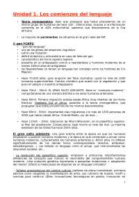 Apuntes lingüística ( Tema 1 - 10)