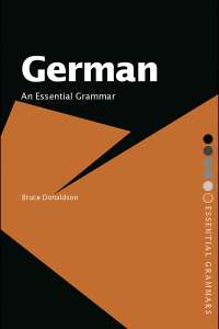 German an essential grammar (B. Donaldson), Guides, Projects, Research for German Language