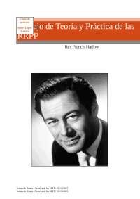 Trabajo de Teoría y Práctica de RRPP Rex Harlow
