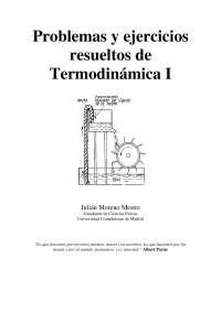 Problemas y ejercicios resueltos de termodinamica