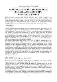 Bandinelli introduzione all archeologia classica come storia dell arte antica pdf