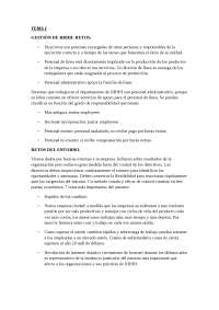 Tema 1. Gestión de RRHH. Resumen