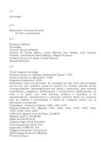 Anthony giddens manual de sociologia
