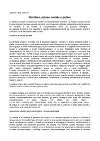 Capitolo 4 struttura azione sociale e potere