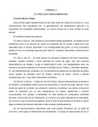 Control 6. preclásico mesoamericano