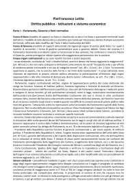 Lotito - Diritto pubblico - Istituzioni e sistema economico