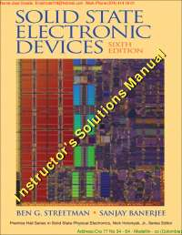Electronicdevices6thed benstreetmansanjaybanerjee