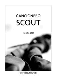 Cancionero scout edicion 2008