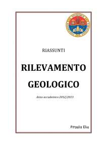 Rilevamento Geologico