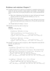 Solutions chapter7 Gasiorowickz