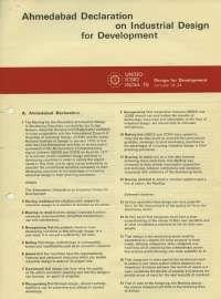 Ahmadabad design declaration