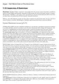 Giulio Carlo ARGAN - Dal Manierismo al Neoclassicismo