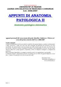 178 appunti di anatomia patologica ii