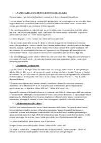 """Riassunto """"Sociologia dei Processi Culturali"""" di Sciolla"""