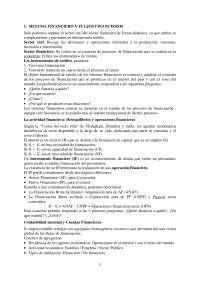Tema 1. Sistema Financiero y Flujos Financieros