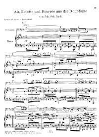 J.s.bach aria sulla quarta corda (cello and piano)