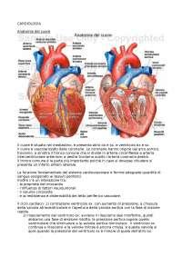 Cardiologia - appunti