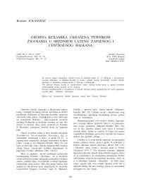 8325890 borislav jovanovic grobna keramika ukraŠena tehnikom zigosanja u srednjem latenu zapadnog i centralnog balkana