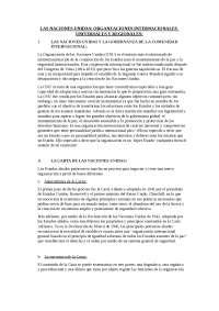 DERECHO INTERNACIONAL LAS NACIONES UNIDAS