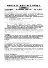 manuale di linguistica e filologia romanza, Renzi-Andreose