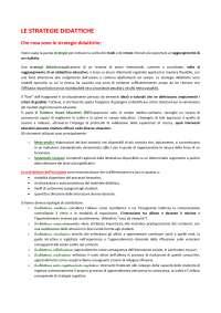 """""""Le strategie didattiche"""" di Giovanni Bonaiuti- esame di didattica generale."""