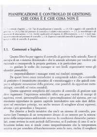 1 capitolo pianificazione e controllo di gestione