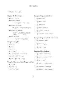 Tabela derivada