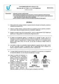 Exámenes biología selectividad Andalucía 2014