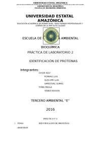 Bioquimica laboratorio 2