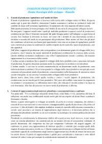 Elenco domande con risposte - esame sociologia dello sviluppo (Ramella)
