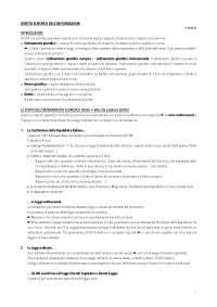 Diritto 1° semestre