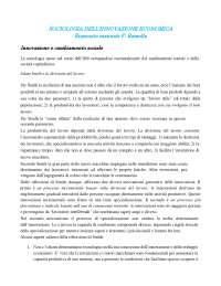 Riassunto libro Sociologia dell'innovazione economica - Ramella