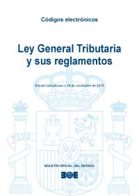 Ley General Tributaria y sus reglamentos - actualización 2015