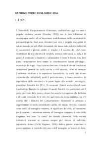 "Tesi di Laurea Triennale su ""Disturbi alimentari: Anoressia e Bulimia"""