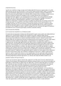 Teoria e analisi dei processi politici, capitoli 7 8 9