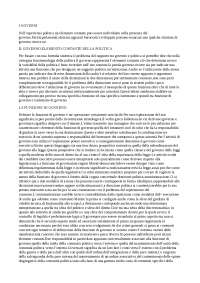 Teoria e analisi dei processi politici capitoli 10,11,12