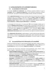 Documentación aplicada a la traducción