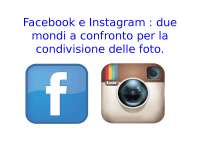 Presentazione social network