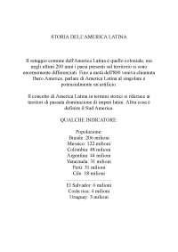 Storia america latina.docx;filename = utf 8''storia america latina.docx