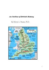 Outline of british history