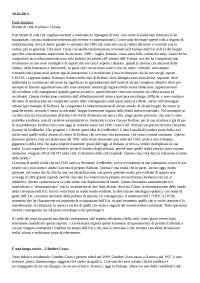 """Analisi di """"è una lunga storia"""" di Günter Grass"""
