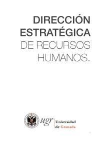 Resúmenes Dirección estratégica de RRHH