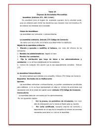 Tema 19 organos de sociedades mercantiles (1)