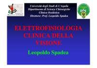 Elettrofisiologia