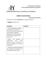 Consignas parcial 1 introduccion a las cs de la información