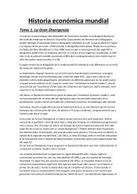 Resumen historia economica mundial