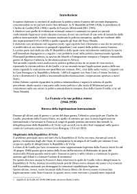 la politica estera francese da de Gaulle a Mitterand, tra rotture e continuità