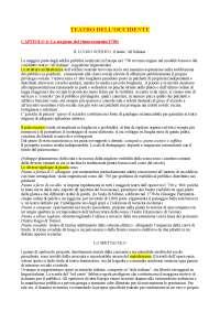 TEATRO DELL'OCCIDENTE