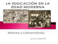Educación en la edad moderna